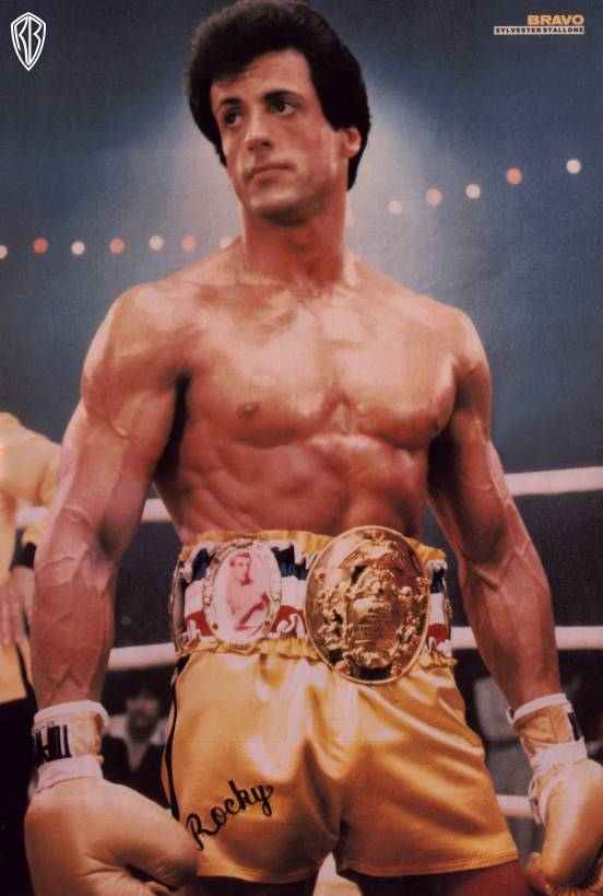 do you think was stallone was natural in rocky 1 and 2. Black Bedroom Furniture Sets. Home Design Ideas
